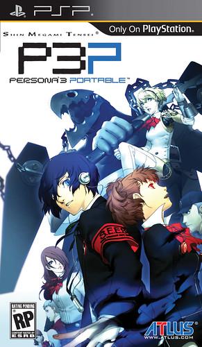 Persona 3 Portable Box