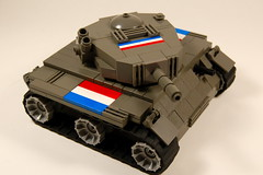 Summers Class Tank (appius95) Tags: tank lego military vehicle brickarms summersclasstank