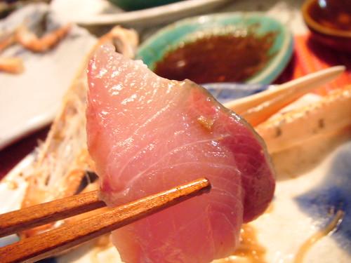 Yellowtail fish (Hamachi)