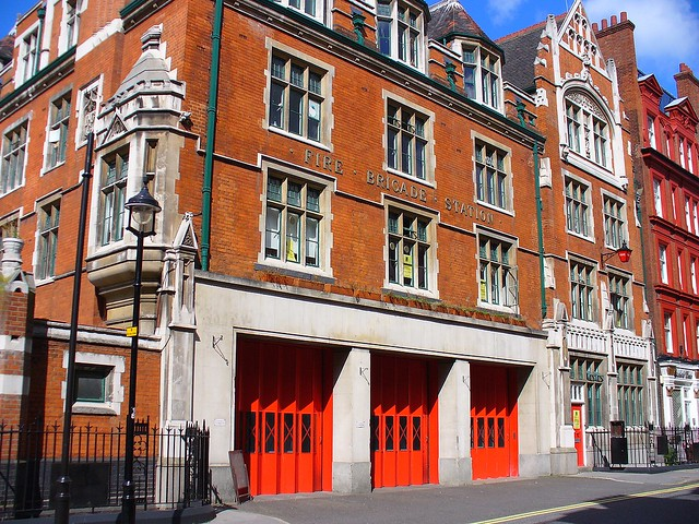 Manchester Square Fire Station, Chiltern Street, London W1