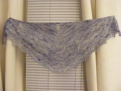 Glasgow sky shawl