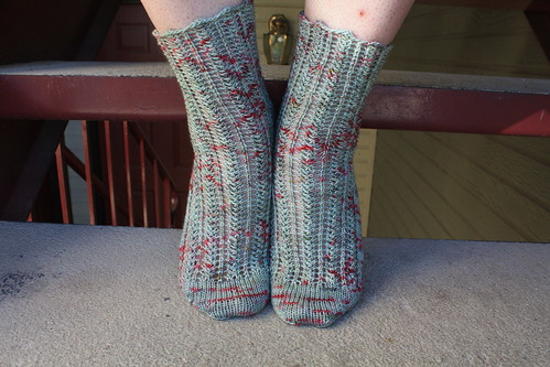 Quill Lace Socks