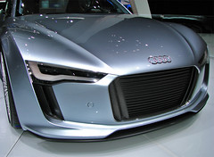 Audi's E-Tron Front