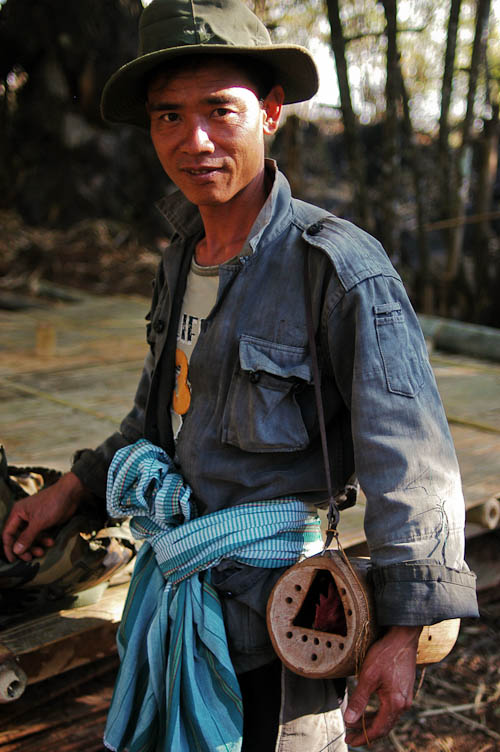 A native of Ban Mae Lana, Mae Hong Son, and his chicken