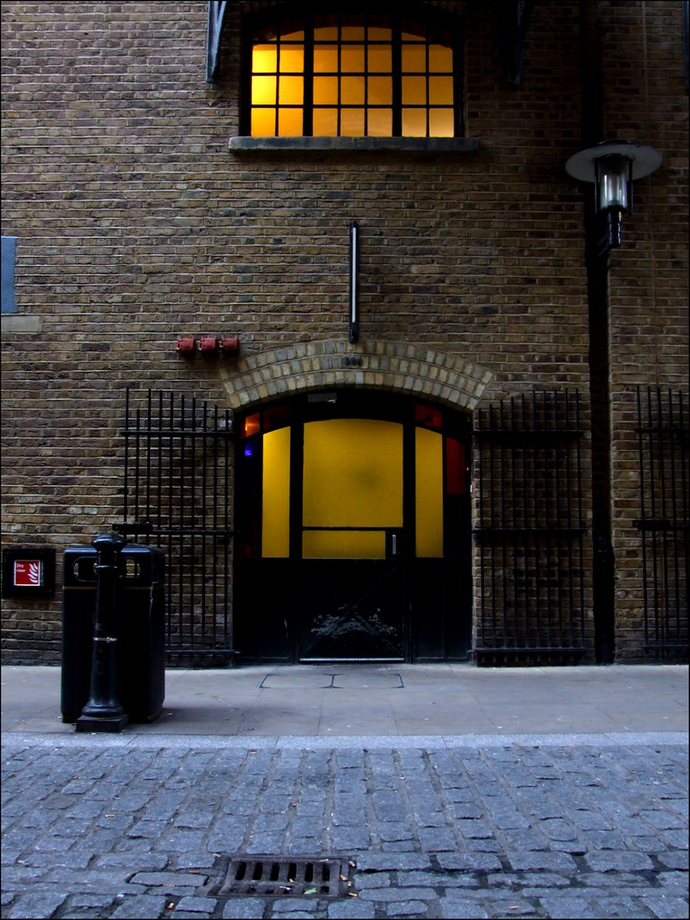 The Doorways of Shad Thames