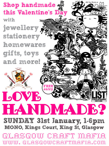 Glasgow Craft Mafia flyer