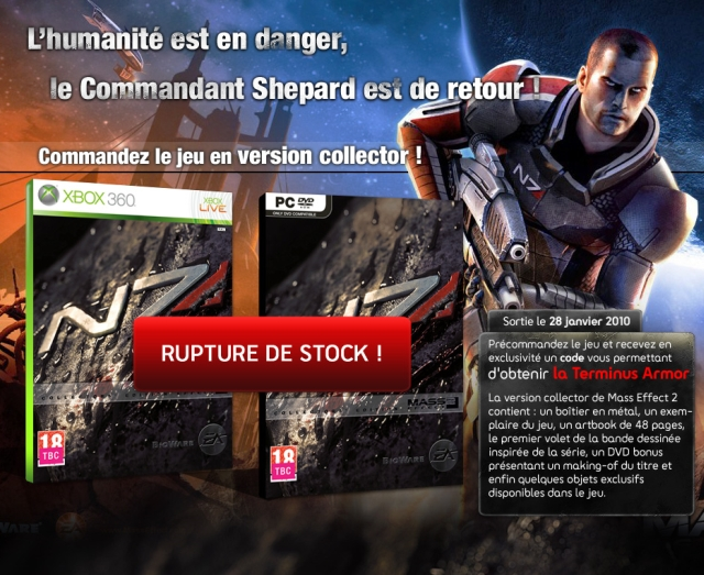 FNAC rupture ME2 collector