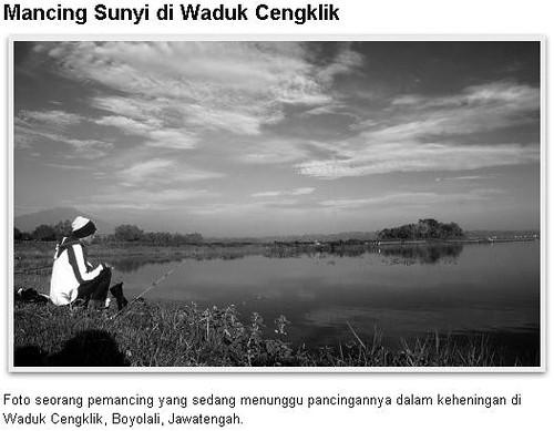 Mancing Sunyi di Waduk Cengklik Boyolali Jawa Tengah   Mishbahul Misbah Munir Fotografer Jogja