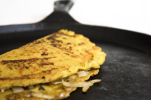okara omelette