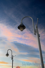 Sky at the Waterfront (Billy Wilson Photography) Tags: winter light sunset sky ontario canada clouds digital canon eos rebel lights colorful day january sunsets atmosphere poles xs soo northern saultstemarie northernontario algoma billywilson
