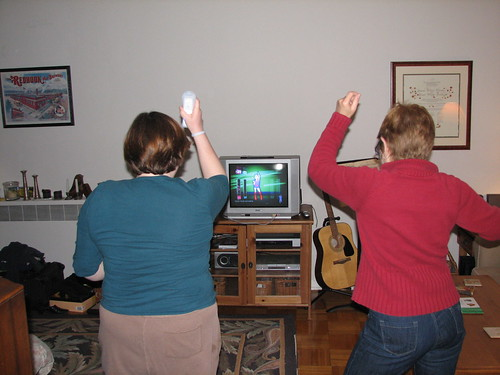 wii dancing