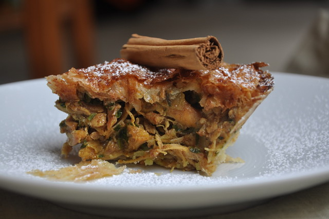 Morrocan-Style Chicken Pie (B'stilla) - Turntable Kitchen