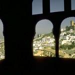 Granada: El Albaicín desde la Alhambra