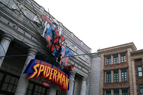 Spiderman sighted at Universal Studio Japan