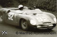 1962_mr_1000km5 (Jaeger-Meister) Tags: auto cars car race racecar vintage dino phil hill ferrari racing autos dem auf sieger  coches adac nordschleife nrburgring 246 nrburg nuerburg nurburg rennwagen
