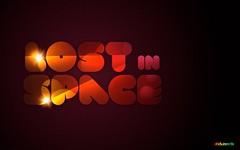 Lost in Space (abduzeedo) Tags: typography space portfolio pixelmator abduzeedo