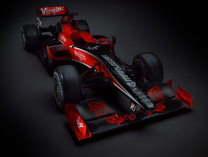2010 Virgin Racing VR-01