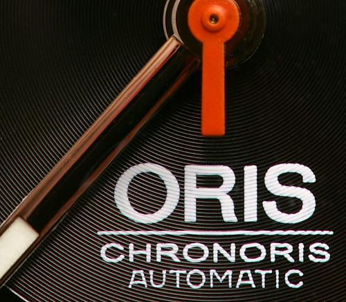 Oris Chronoris - dial