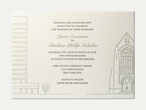 L&M Wedding Invitation
