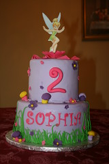 Tinkerbelle (irresistibledesserts) Tags: birthday flowers girl cake shower bell tinkerbell tinkerbelle belle tinker