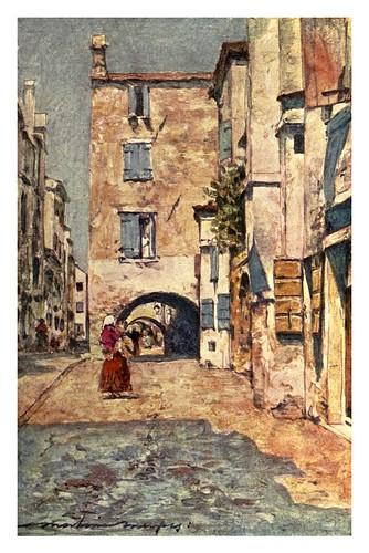 023-Una calle secundaria en Chioggia-Venice – 1904-Dorothy Menpes