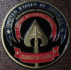 CIA medal Lethal Covert Action obverse