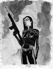 GI Joe: Baroness Paint/wash