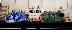 Zew42 - Raos (mightyquinninwky) Tags: railroad up graffiti character tag graf ant tracks railway tags tagged railcar rails graff graphiti 42 throw reefer raos sfe trainart railart cefx gtl zew coldcar gtlr platef gtlrs zew42 sfek paintedreefer reeferart paintedrailcar taggedreefer taggedrailcar z42crew 11223344556677 carfireonflickr charactersformyspacestation