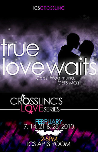 TRUE LOVE WAITS: CROSSLinC's Love Month Series
