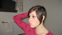 IMG_0877 (raiH enaS) Tags: haircut hair brittany shaved smoking short shorthair buzzednape
