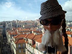 Lisbon downtown view