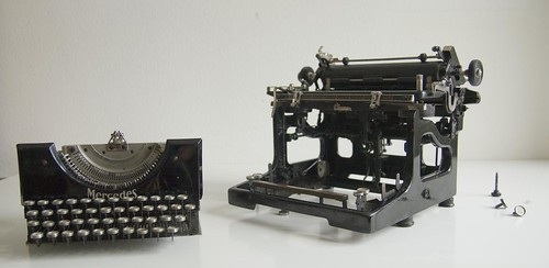 Mercedes No.5 typewriter 13/13