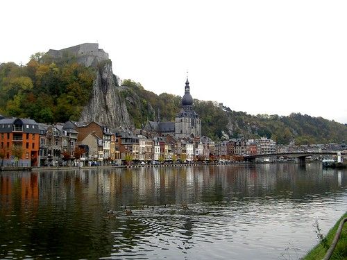 Dinant waterfront