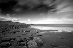 Low-Tide-Porlock (petefoto) Tags: longexposure sea blackandwhite seascape beach nature water clouds sand pebbles coastal filters foreshore blackdiamond porlock polariser bej nd110 platinumheartaward artlegacy ubej gnd09s