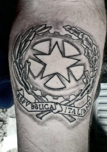 MY REPUBLIC OF ITALY TATTOO by jagambone74