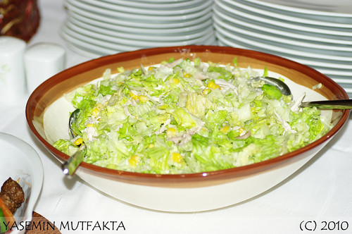 Mısırlı Tavuk Salatası