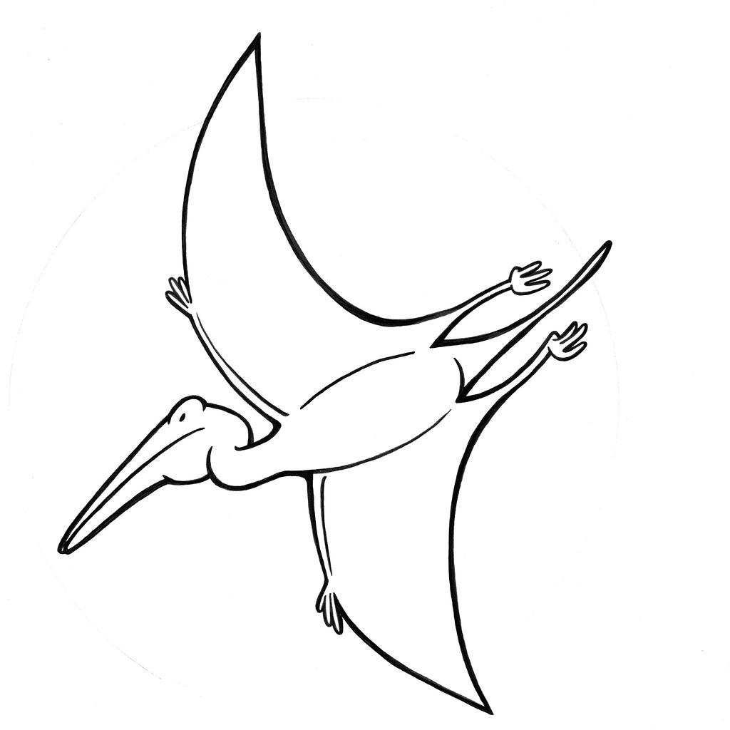 Pterodactyl Coloring Pages Printable Coloring Pages Pterodactyl Coloring Pages