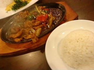 SIZZLING BLACK PEPPER PORK FILLET