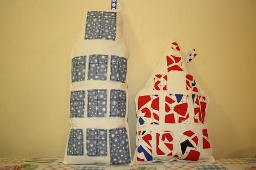 My Dutch houses pillows