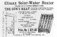 climax waterheater