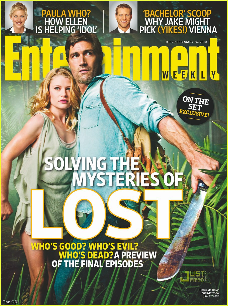 lost enterteinment weekly
