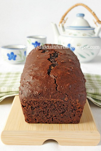 Dolce al Cacao e Tè-Tea and Cocoa Cake