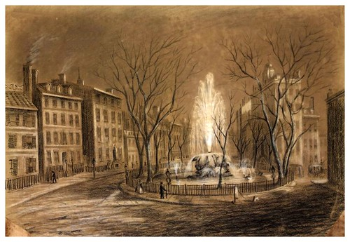 006-Bowling Green New York 1845-The Eno collection of New York City-NYPL