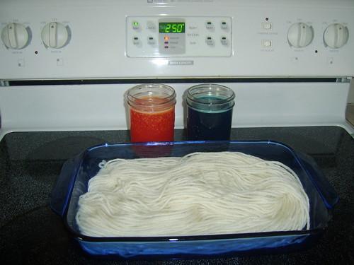 Yarn dye-ing Tutorial 3