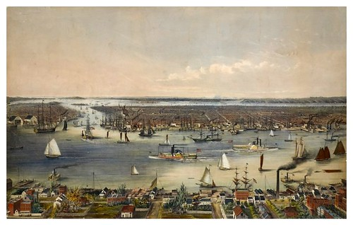 020-New York y alrededores en 1848-The Eno collection of New York City-NYPL