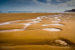 20060527_065 (Zalacain) Tags: sea beach portugal clouds coast sand empty calm potofgold gettyimagesiberiaq2