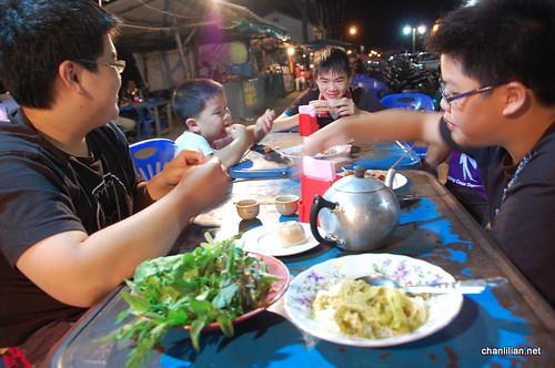 night warong at satun, thailand