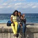 Mother and son on the Malecon