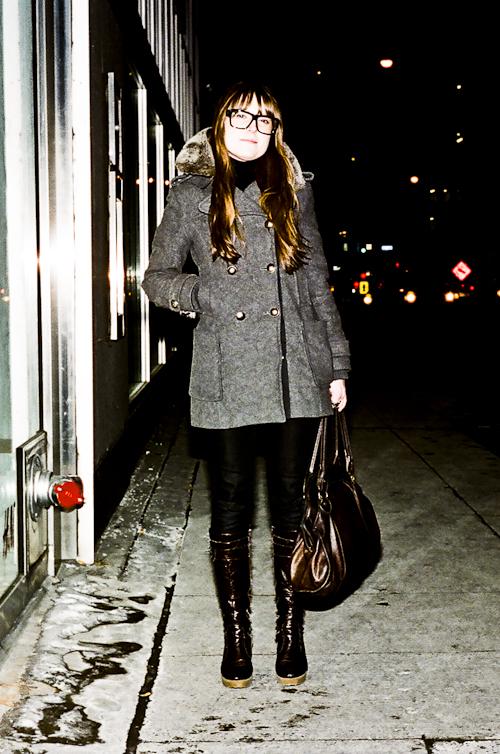 Black Frames, Toronto Street Fashion @ Bloor St. W., Toronto