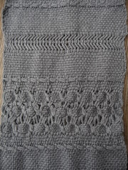 Danish Medallion (with weft float border), Norwegian Lace